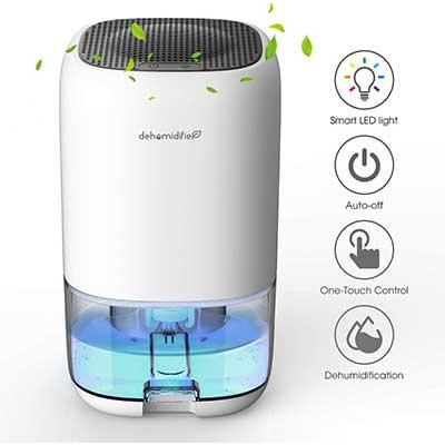 ALROCKET Dehumidifier 35 ounce Small Dehumidifier