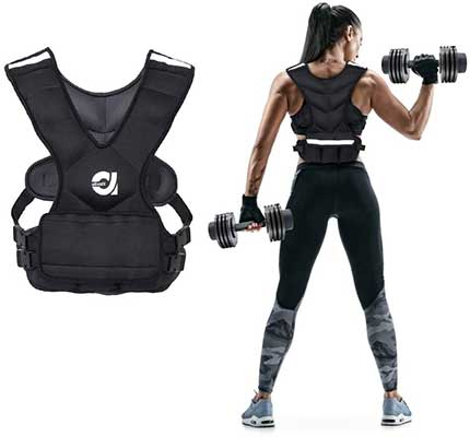 ATIVAFIT Sport Weighted Vest 8lbs/16lbs