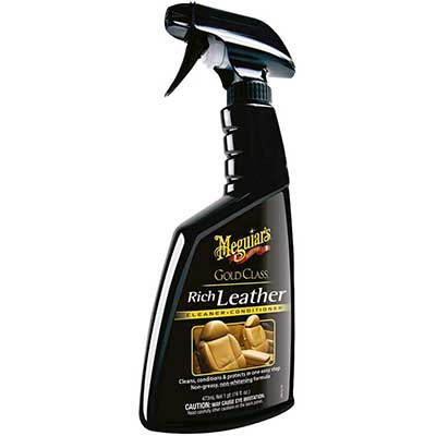 Meguiar's G10916 Gold Class Rich Leather Cleaner