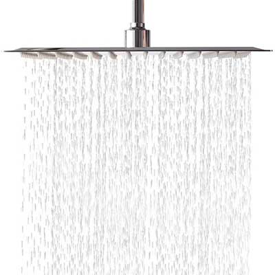 Lordear 17 Inch Rainfall Shower Head