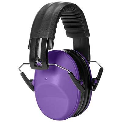 AmazonBasics Kids Ear Protection Safety Noise Earmuffs