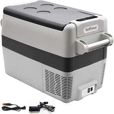 Setpower AJ40 Quarts Portable Freezer Fridge