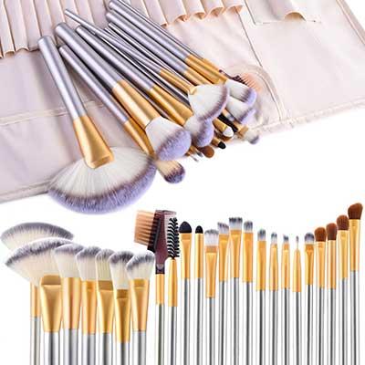 VANDER LIFE 24pcs Premium Cosmetic Brushes