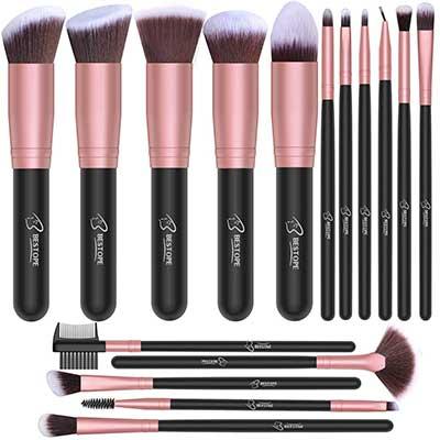 BESTOPE 16 PCs Makeup Brush Set