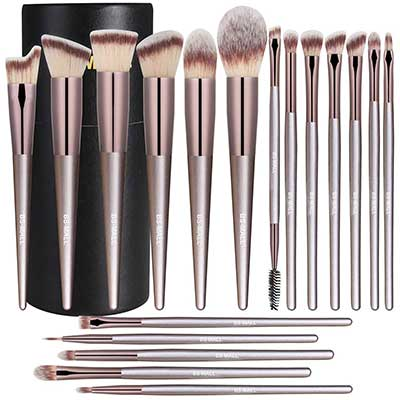 BS-MALL 18 Pcs Premium Synthetic Face Brushes