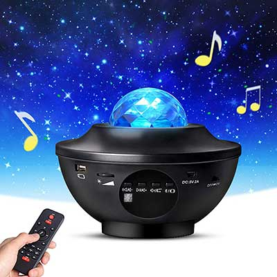 Night Light Projector with Remote Control