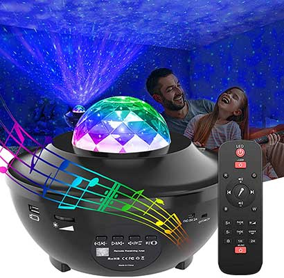 GeMoor Star Projector Night Light Projector