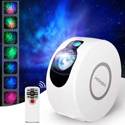 LED Night Light, Colorful Projector, HOKEKI Star