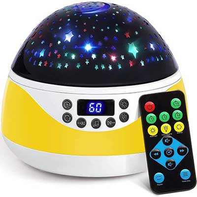 Stars Night Light Projector with Timer