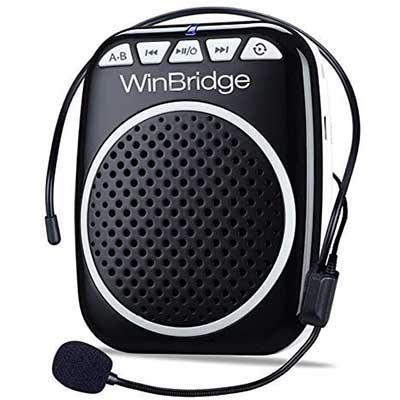 WinBridge WB001 Rechargeable Ultralight Portable Voice Amplifier