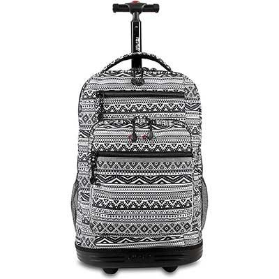 J World NewYork Sundance Laptop Rolling Backpack,Tribal