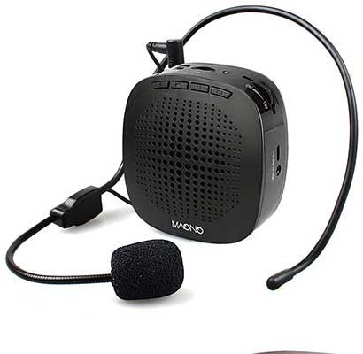 Voice Amplifier MAONO Personal Speaker Microphone Headset