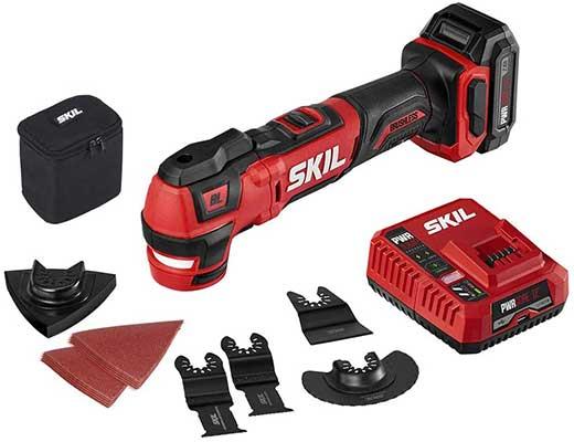 SKIL PWRCore Oscillating Tool kit