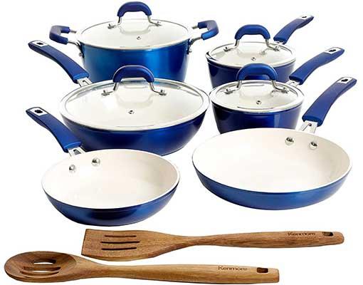 Kenmore Arlington Nonstick Ceramic Cookware Set