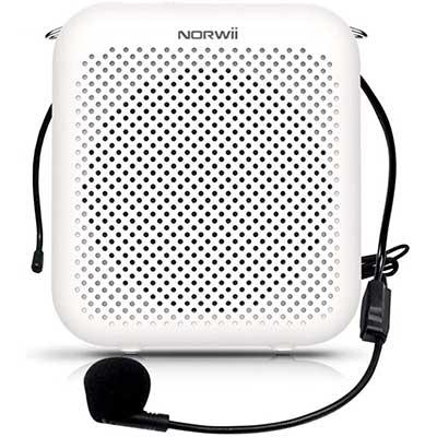 NORWII S358 Portable 2000mAh Rechargeable Voice Amplifier