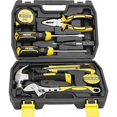 DOWELL 10 Piece Small Tool Kit