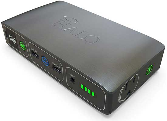 HALO Bolt Portable Phone Laptop Charger