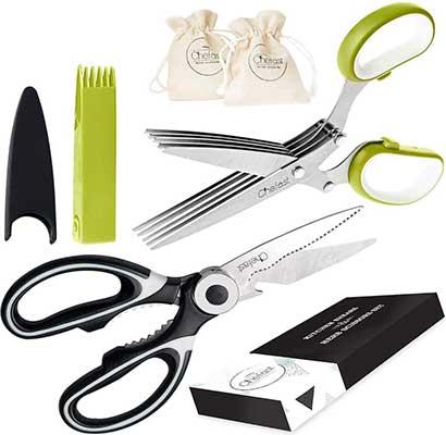 Chefast Heavy Duty Kitchen Scissors Set