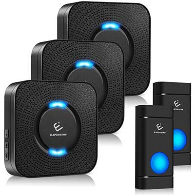 Wireless-Doorbell, ELEPOWSTAR Door Bells and Chimes Kit