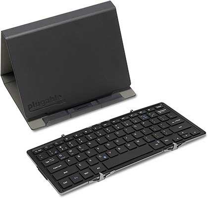 Plugable Bluetooth Keyboard Compatible with iPhones, iPads, Android, and Windows