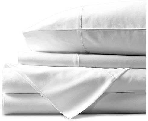 Queen Mayfair Linen White 100% Natural Egyptian