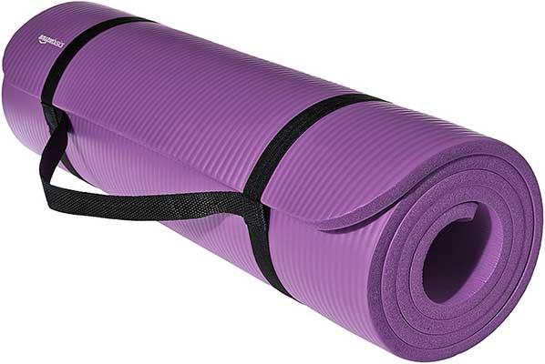 Amazon Basics ½-Inch Extra-Thick Exercise Yoga Mat