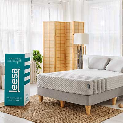 Leesa Luxury Hybrid 11 Inch Mattress, Innerspring