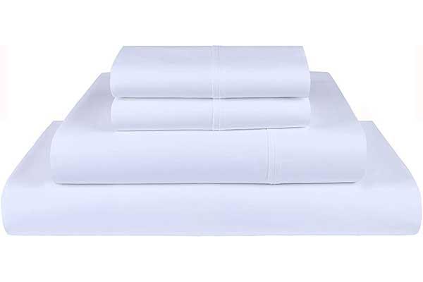 King Threadmill Home Linen White Cotton