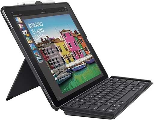 Logitech iPad Pro 12.9 inch Keyboard Case | Slim Combo