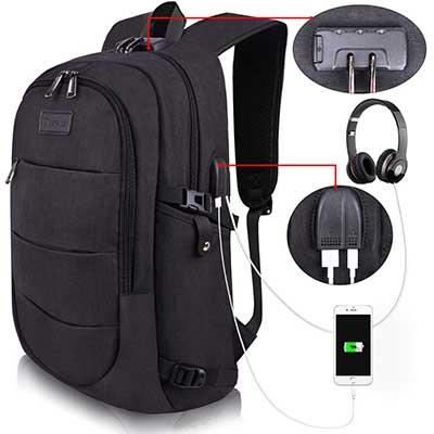 Travel Laptop Backpack Water-Resistant