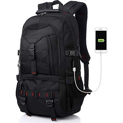 Tocode Laptop Backpack with USB Charging Port