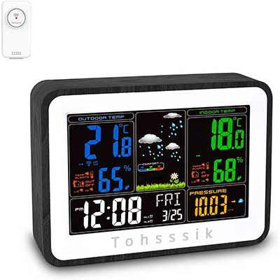 Weather Stations Wireless Indoor Outdoor Thermometer Hygrometer