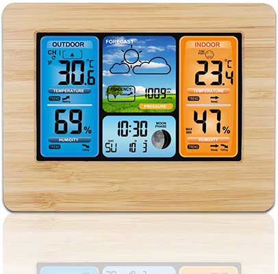 ALLOMN Wireless Weather Station with Color