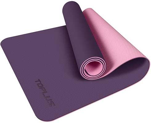 Yoga Mat, Dot Texture TPE Exercise Mats