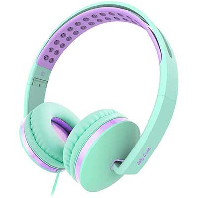 Kids Headphone for School, Jelly Comb Girls Lightweight