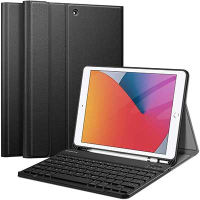 Fintie Keyboard Case for New iPad 8th Gen, 2020 and 7th Gen 2019