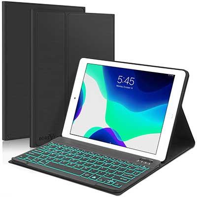 New iPad 10.2 8th 7th Generation 2019 Keyboard Case