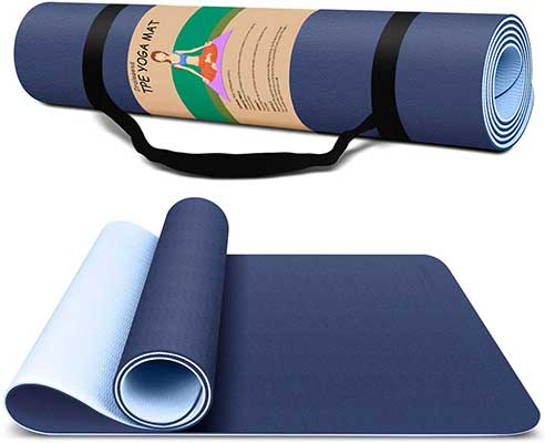 Dralegend Yoga Mat Exercise Fitness Mat