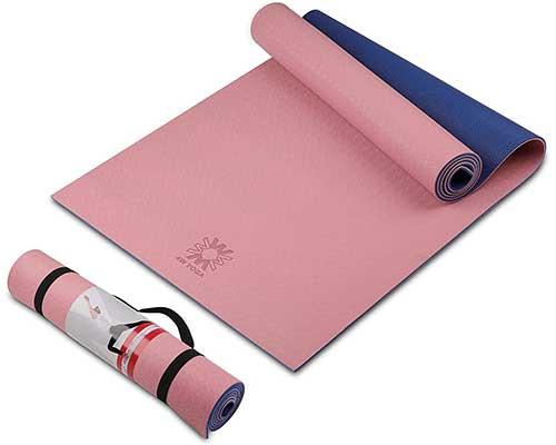 wwww Yoga Mat Extra-Thick Non-Slip Yoga Mat for Women & Men