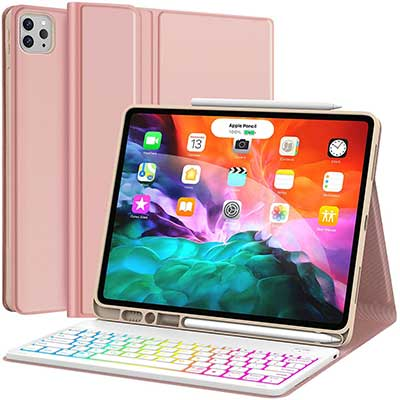 Keyboard Case for iPad Pro 12.9 2020 4th Generation