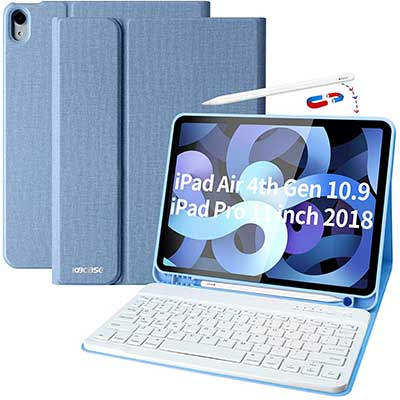 iPad Air 4th Generation Case with Keyboard