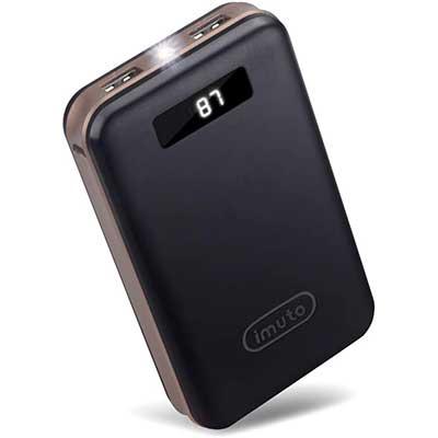 iMuto 20000mAh Portable Charger Compact Power Bank