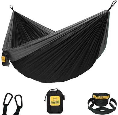 Wise Owls Outfitters Hammock Camping with Tree Straps