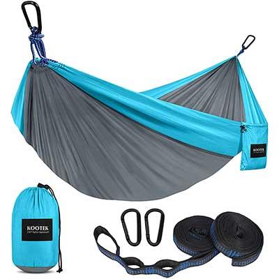Kootek Camping Hammock Double &Single Portable Hammocks