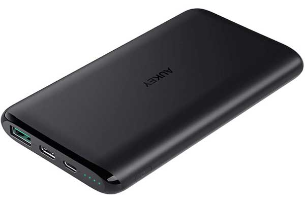 AUKEY USB C Power Bank, Portable Charger