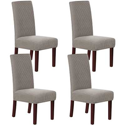H.VERSAILTEX Stretch Dining Chair Covers