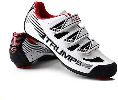 Tiebao Road Cycling Lightweight Breathable Shoes for Men