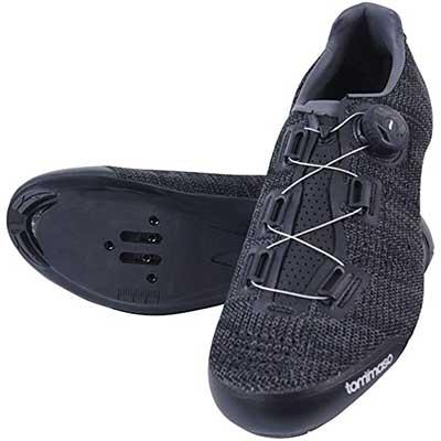 Tommaso Strada Elite Knit Quick Lace Style Road Bike-Cycling-Shoe