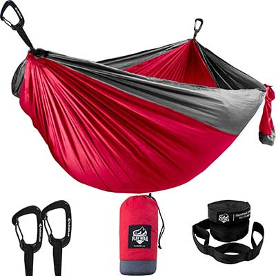 Double Hammock for Camping, Travel, and Hiking