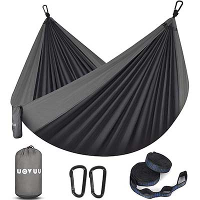 WOVUU Camping Hammock Double Outdoor Travel Portable Hammock